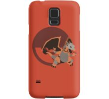 Armored Charizard (Pokemon) - Sunset Shores Samsung Galaxy Case/Skin
