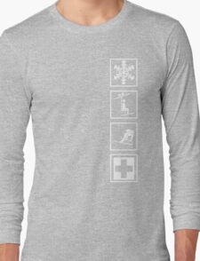 up and down I Long Sleeve T-Shirt