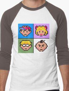 Earthbound squared Men's Baseball ¾ T-Shirt