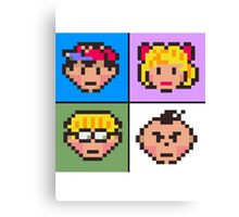 Earthbound squared Canvas Print