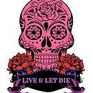 Candy Skull Live & Let Die Leggings by fantasytripp
