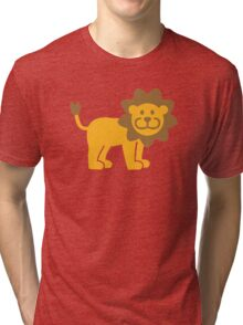 Comic lion Tri-blend T-Shirt