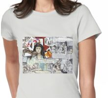 Alice Through The Opera Glass(best if viewed large) Womens Fitted T-Shirt