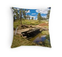 Once was a bridge... Throw Pillow