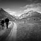 Walking together by Silvia Ganora