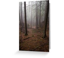 Mt. Parke Trail Greeting Card