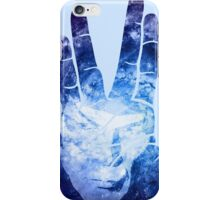 Spocks Hand - Leonard Nimoy Geek Tribute iPhone Case/Skin