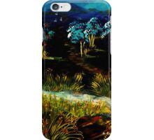 Dancing Waters, Acrylic painting iPhone Case/Skin