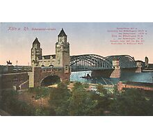 Cologne Hohenzollernbruecke  Photographic Print