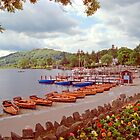 Harbourscene, Ambleside, Lake Windermere by Priscilla Turner