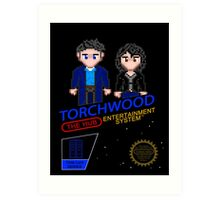 NINTENDO: NES Torchwood  Art Print