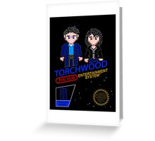 NINTENDO: NES Torchwood  Greeting Card
