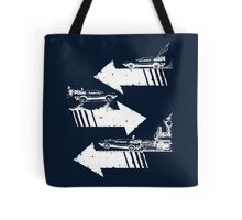 Back to the Future Trilogy Minimalism Tote Bag