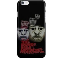 Power Drill Massacre (psychedelic) iPhone Case/Skin