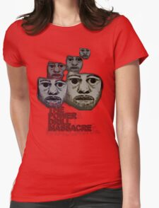 Power Drill Massacre (psychedelic) Womens Fitted T-Shirt