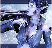 Icy Calm Photographic Print