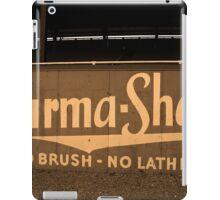 Baseball Field & Burma Shave Sign iPad Case/Skin
