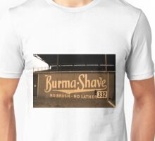 Baseball Field & Burma Shave Sign Unisex T-Shirt