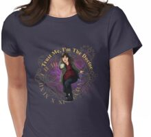 Trust Me, I'm the Doctor-Clara Oswald Womens Fitted T-Shirt