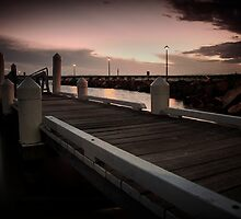 Forster Jetty by Joel  Haldane