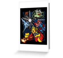 Avengermon! Greeting Card