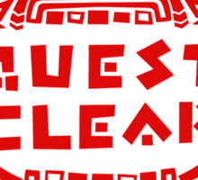 MONSTER HUNTER 4 - QUEST CLEAR Sticker