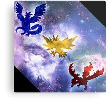 Legendary Galaxy Birds Metal Print