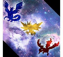 Legendary Galaxy Birds Photographic Print
