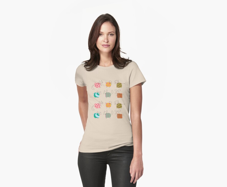 Baby Moo! Oink! Cheep! Meow! Woof! Thump! Too T-shirt by fatfatin