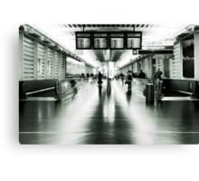 Terminal 1 Canvas Print
