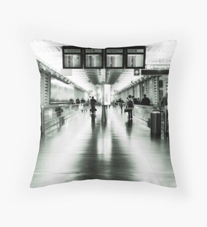 Terminal 1 Throw Pillow
