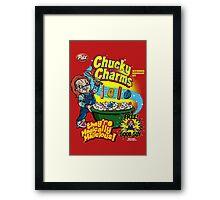 Chucky Charms Framed Print