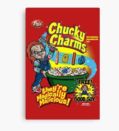 Chucky Charms Canvas Print