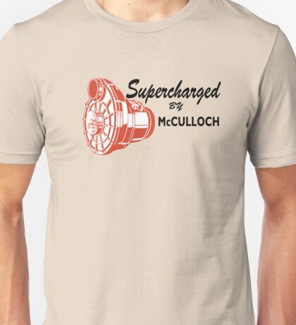 McCulloch Superchargers Unisex T-Shirt