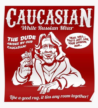 Caucasian Mixer Poster