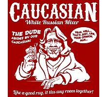 Caucasian Mixer Photographic Print