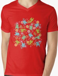 Spaced Out! Mens V-Neck T-Shirt