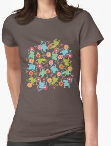Spaced Out! Womens Fitted T-Shirt