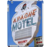 Route 66 - Apache Motel in Tucumcari iPad Case/Skin