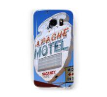Route 66 - Apache Motel in Tucumcari Samsung Galaxy Case/Skin