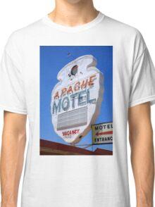 Route 66 - Apache Motel in Tucumcari Classic T-Shirt