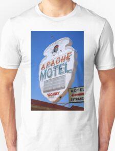 Route 66 - Apache Motel in Tucumcari Unisex T-Shirt