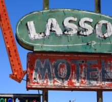 Route 66 - Lasso Motel Sticker