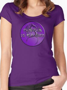 Pun-Pun is my God Women's Fitted Scoop T-Shirt