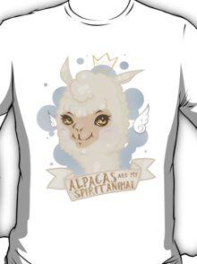 Alpacas are my Spirit Animal T-Shirt