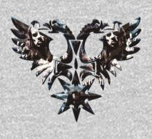 BEHEMOTH WINGS BLUE/BROWN - thelema 6 by LadyEvil