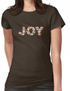 JOY Spring Flowers Womens Fitted T-Shirt