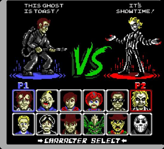 Super 80's Good Vs. Evil! by Punksthetic