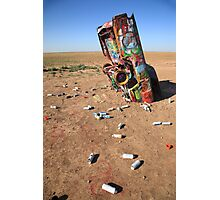 Route 66 - Cadillac Ranch Photographic Print