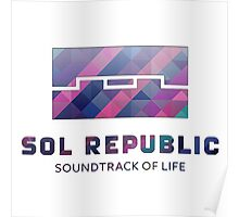 Sol Republic Abstract Logo Poster